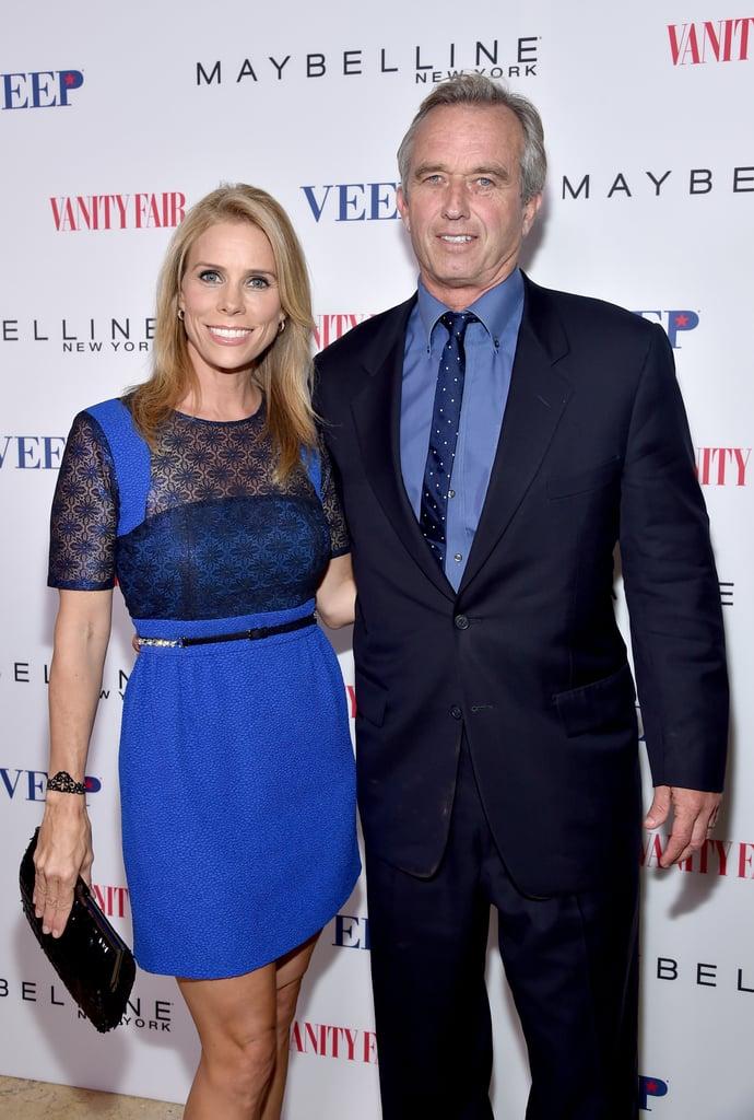 Cheryl Hines and Robert Kennedy Jr.