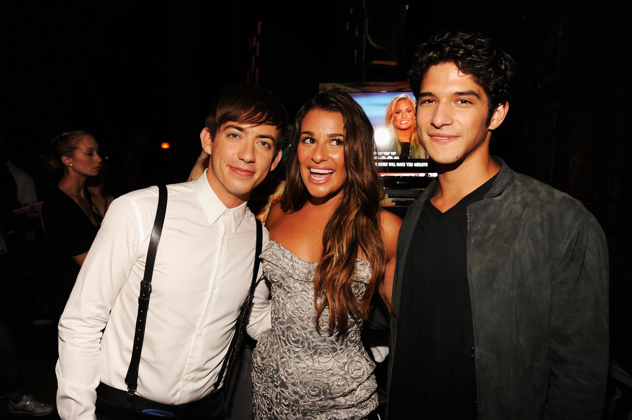 Lea Michele, Kevin McHale, and Tyler Posey chatted ...