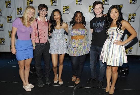 Glee Stars Reveal Season Two Spoilers at Comic-Con 2010-07-26 01:15:00