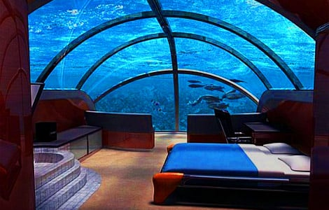Underwater Resort Has You Living With The Fishes