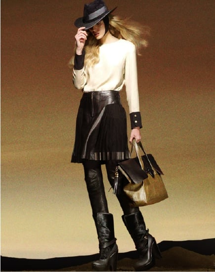 Derek Lam Fall 2010 Ad Starring Model Maryna Linchuk