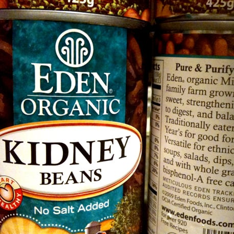 BPA-Free Canned Beans