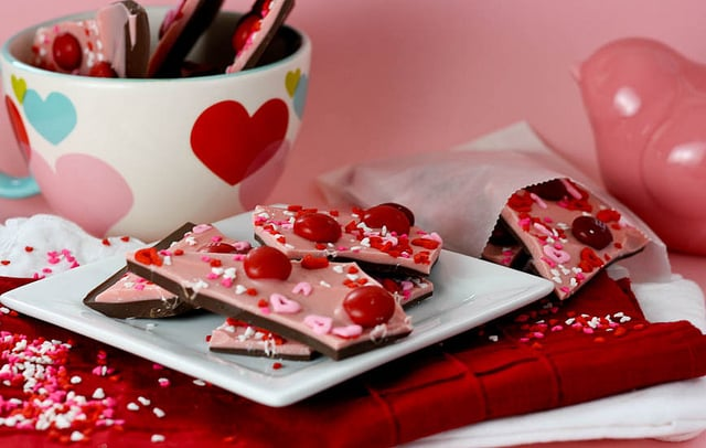 Chocolate Cherry Bark
