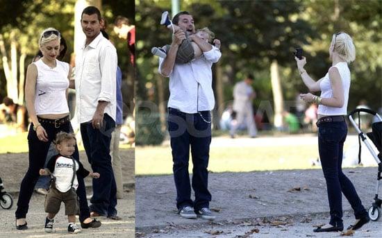 Gwen, Gavin and Kingston's Parisian Vacation