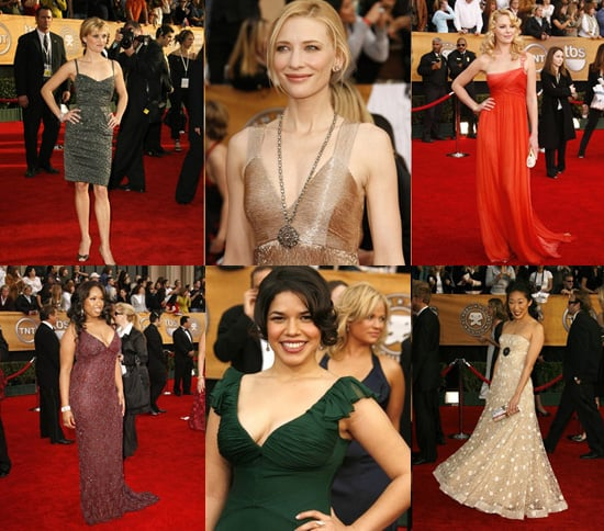 SAG Awards Red Carpet Round Up
