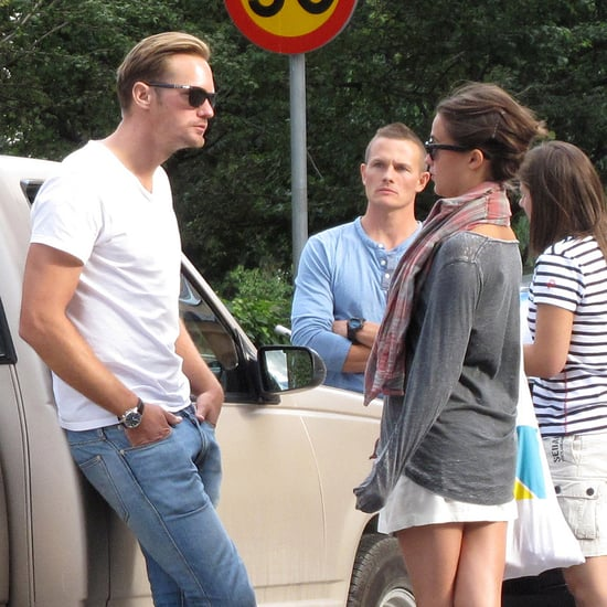 Alexander Skarsgard and Alicia Vikander Together