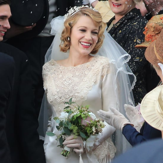 Blake Lively Filming a Wedding Scene For The Age of Adaline