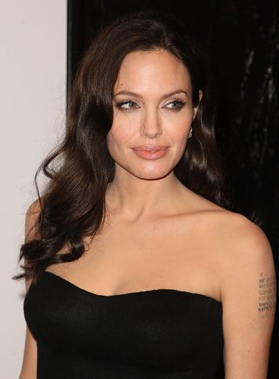 Angelina Jolie Hints at Vote For Barack Obama