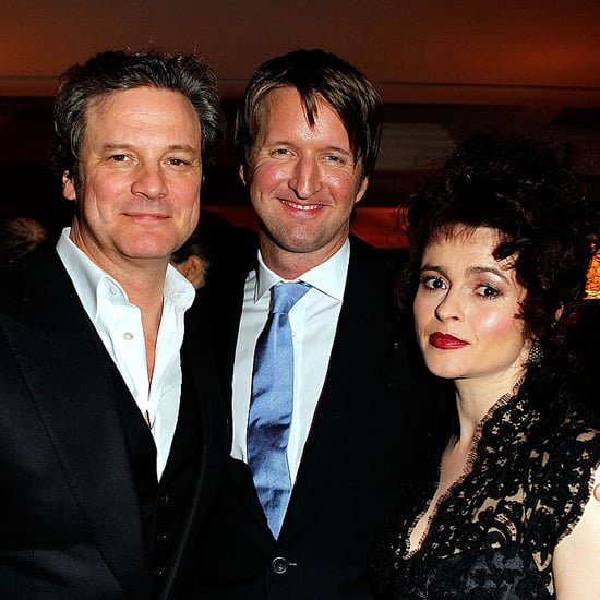 Pictures of Colin Firth, Helena Bonham Carter, Tom Hooper at Weinstein Company Oscar Party