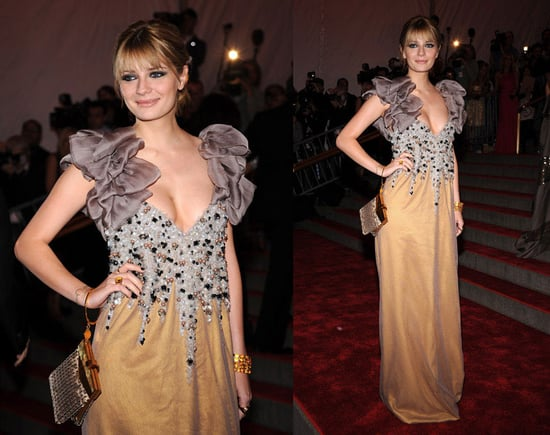 The Met's Costume Institute Gala: Mischa Barton