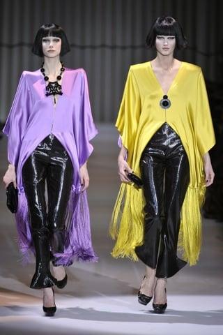 2009 Spring Couture: Giorgio Armani Privé
