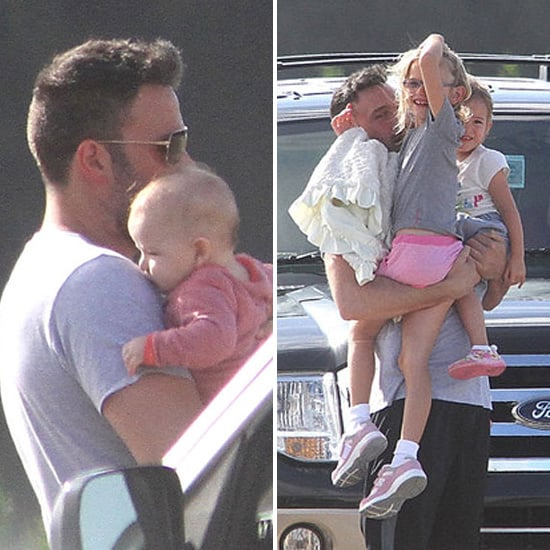 Ben Affleck Welcomes Jennifer Garner and Their Kids — Including Baby Samuel! — to Puerto Rico