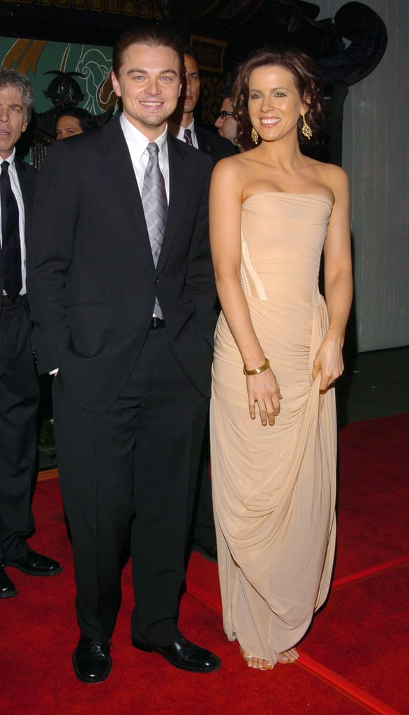 Leonardo DiCaprio walked the red carpet at the 2004 premiere of The Aviator with his gorgeous costar Kate Beckinsale.