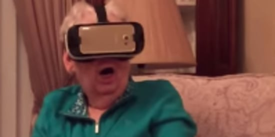 Grandma's Freak Out Over Virtual Reality Session Is Comedy Gold