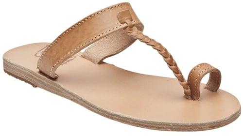 Ancient Greek Sandals MELPOMENI FLAT SANDAL