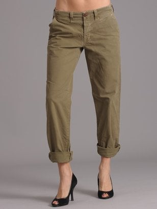 Rolled/Cuffed Baggy Army Khakis