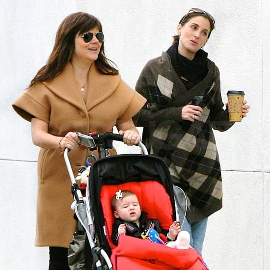 Tiffani Thiessen Breaks From Shooting and Designing For a Stroll With Baby Harper