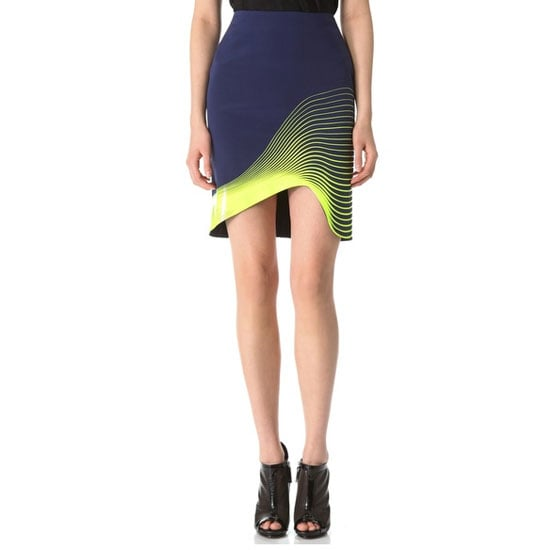 My main fashion goal this year is to wear colour. I'm petrified of it, so this Dion skirt is a nice little introduction. Still safe, but there's yellow! — Alison, BellaSugar editor Skirt, approx $980, Dion Lee at Shopbop