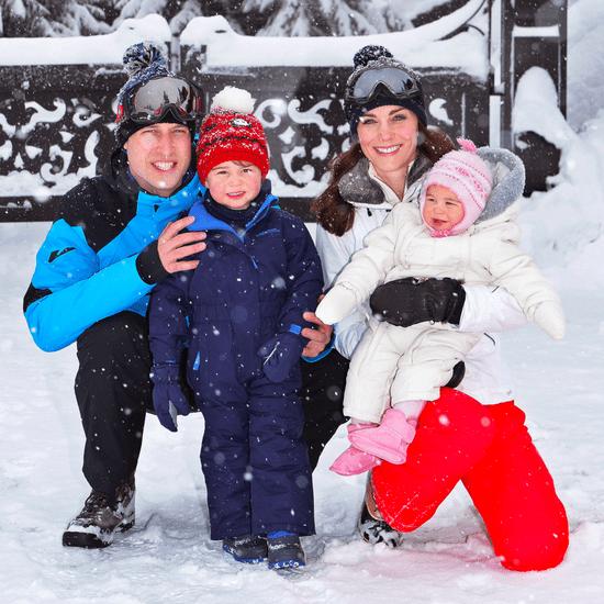 Royal Family Ski Holiday Family Photos 2016