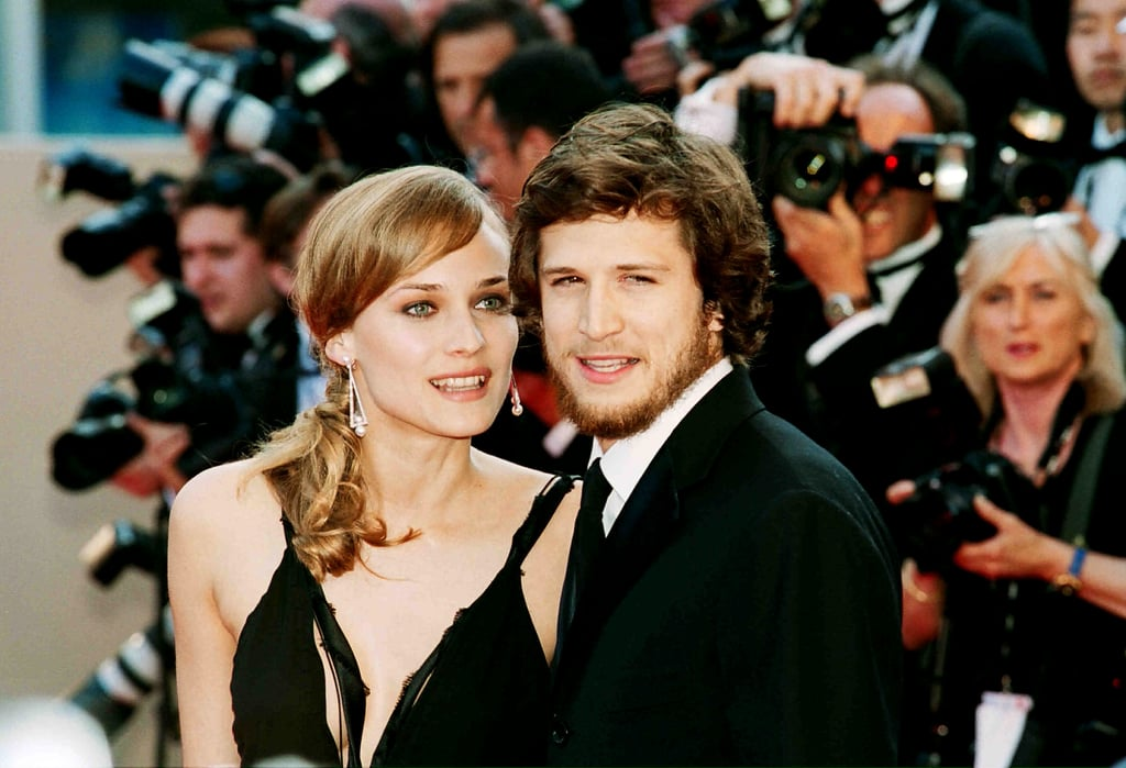 Diane Kruger and Guillaume Canet got close at the Moulin Rouge premiere in 2001.