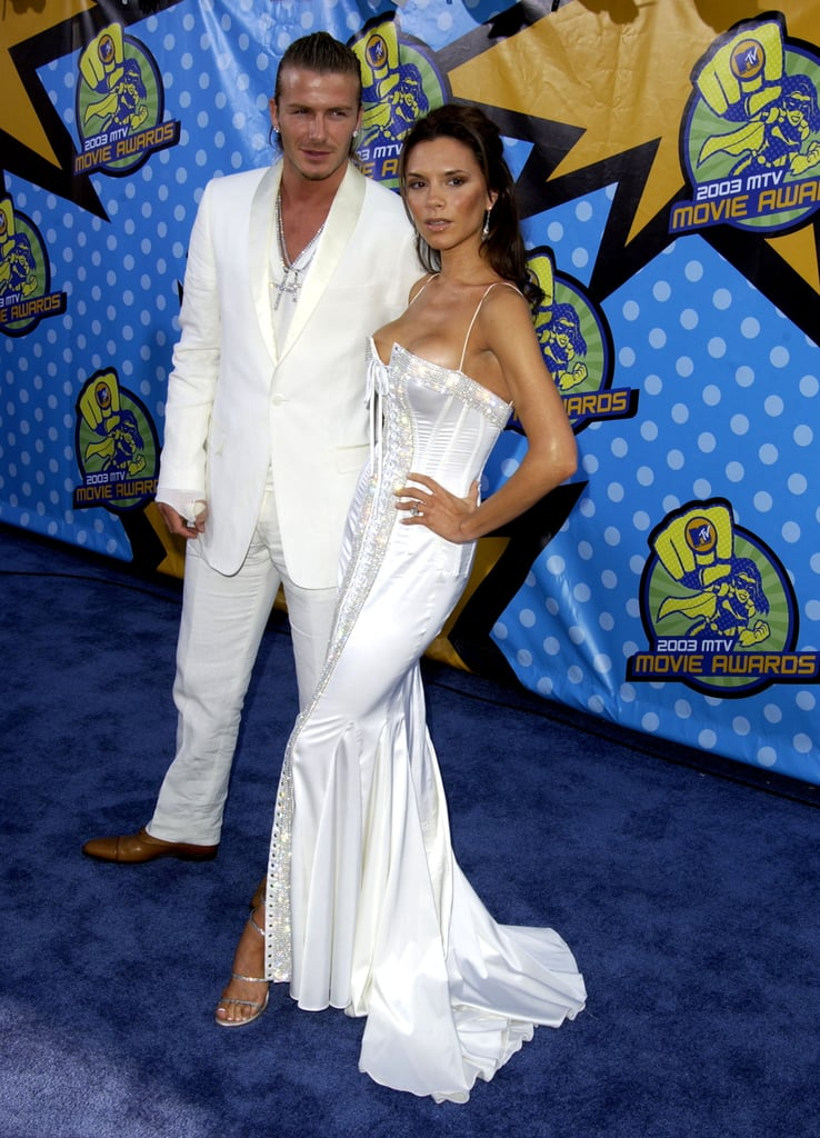 The duo chose white for the MTV Movie Awards in 2003.