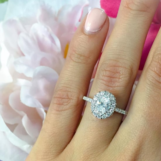 Oval-Cut Engagement Rings