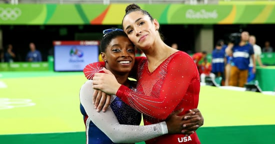 Aly Raisman Pokes Fun at 'Grandma' Simone Biles for Napping on the Plane From Rio Olympics