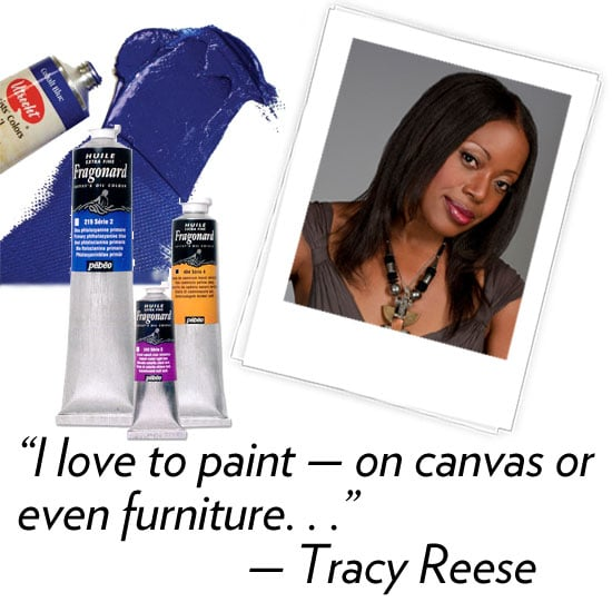 Tracy Reese, designer Three words that describe your Fall '12 collection: Vibrant, baroque, and bold. What's your hidden talent? I love to paint — on canvas or even furniture. I even have a little studio set-up in my house upstate. What are your three fashion essentials? Piles of necklaces, comfortable yet stylish shoes, and a go-to dress you feel confident in. What's your favorite Winter comfort food? Soup. I have soup almost every day for lunch. How are you planning to de-stress and relax after NYFW? After the chaos, I spend the rest of the day with my father and siblings who come to support me every season. I try to get a nap in before we go to a lovely dinner.