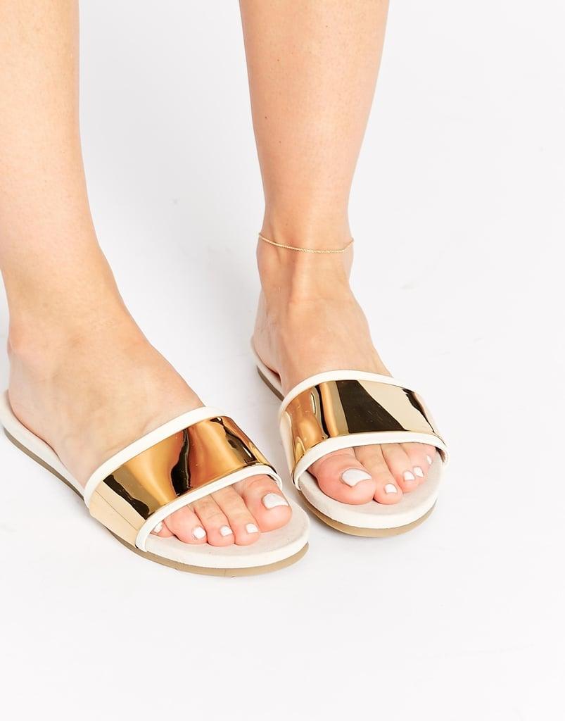 Aldo Mule Flat Sandals