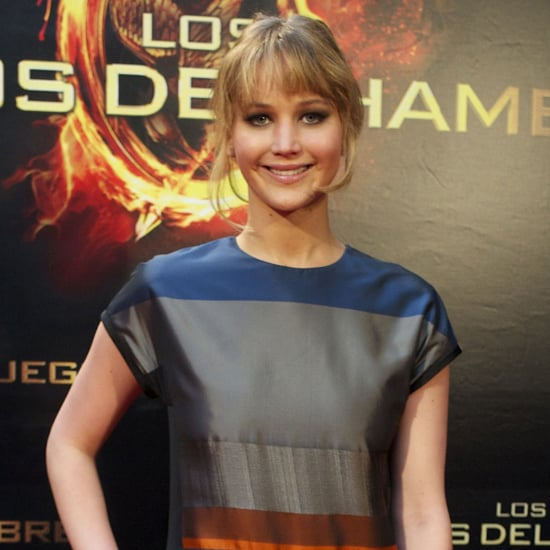 Jennifer Lawrence Hunger Games Event Madrid Pictures