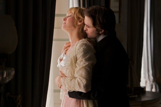 Robert Pattinson and Uma Thurman Get It On in First Bel Ami Photos