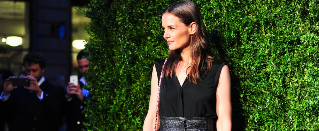Katie Holmes Proves High-Waisted Pants Aren't Dead — They're Only Getting Hotter