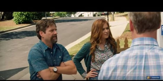 Gal Gadot, Jon Hamm, Zach Galifianakis, and Isla Fisher in Keeping Up With The Joneses trailer