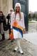 Anna Dello Russo at the Christian Dior Paris Haute Couture show.