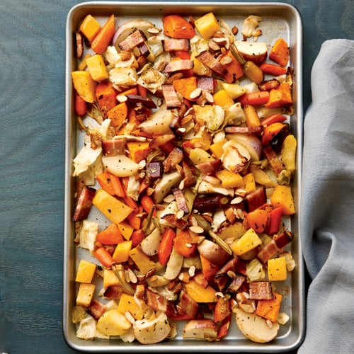 Hearty Winter Vegetable Salad