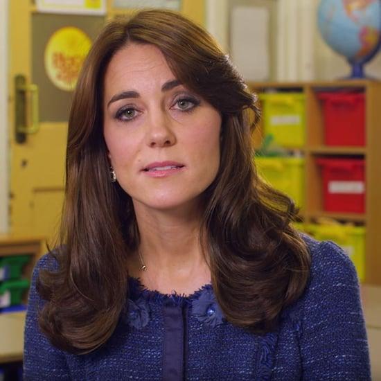 Kate Middleton Children's Mental Health Week Video 2016