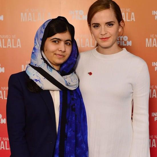 Emma Watson Interviews Malala Yousafzai