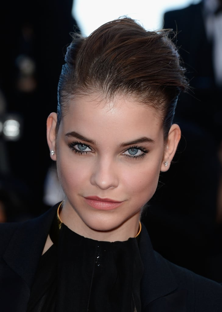 L'Oréal Paris ambassador, Barbara Palvin, pleasantly surprised us with an edgy up 'do.