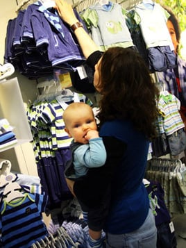 School Year's Resolutions: Shopping with Kids