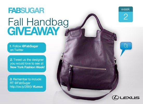 FabSugar Fall Handbag Giveaway, Foley + Corinna