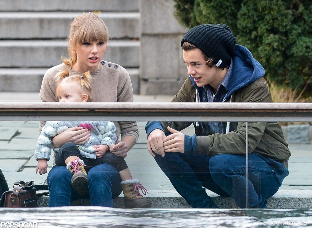 See Taylor Swift and One Direction's Harry Styles's Romantic Zoo Day!