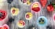 Fruity Frozen Yogurt Bites