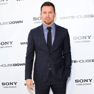 Channing Tatum at White House Down Premiere in Washington DC