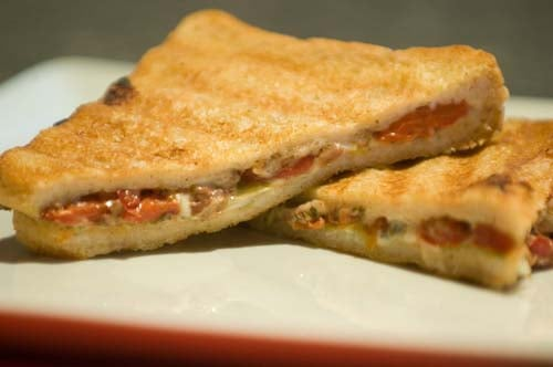 Today's Special: Cheese Olive Panini