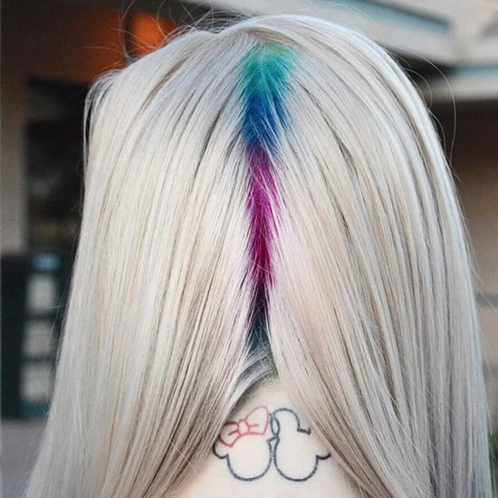 Hidden Rainbow Roots Hair Trend