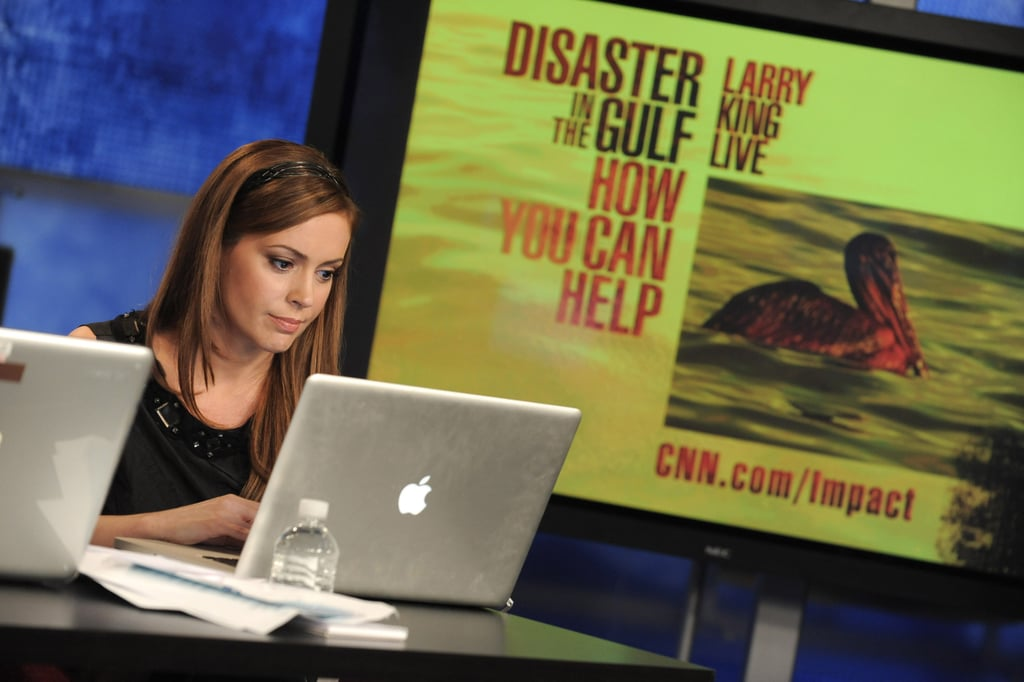 Pictures From Larry King's Telethon