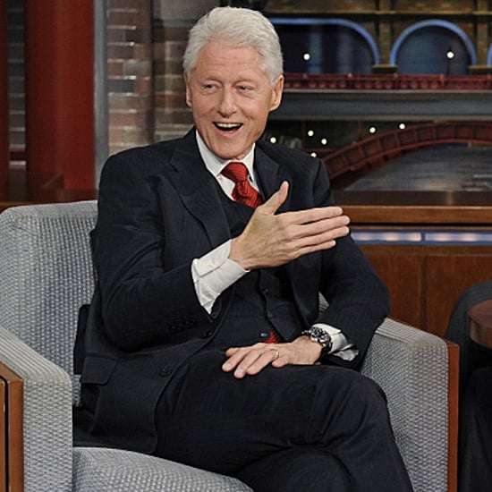 Bill Clinton on Late Show With David Letterman May 2015