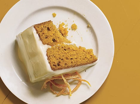 Pumpkin Layer Cake Recipe With Caramel Cream Cheese Frosting