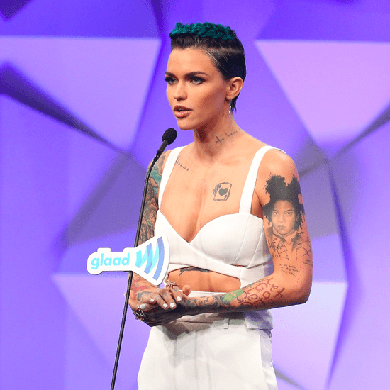 Ruby Rose's White Outfit From the GLAAD Media Awards 2016