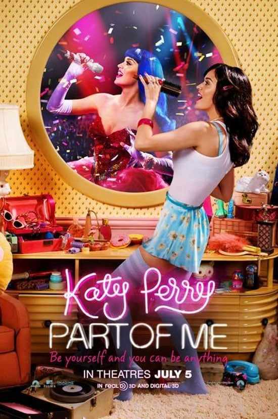 Katy helped finance Katy Perry Part of Me, to the tune of $2 million. Think that's a lot of money? The star made a reported $44 million last year alone! Photo courtesy of Paramount Pictures